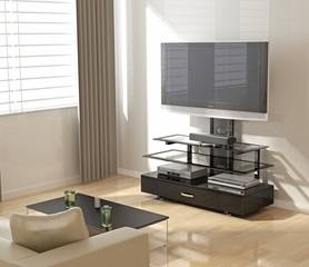 TV Stand - Sync Flat Panel TV Stand with Integrated Mount - Z-Line Designs - ZL788-50MVU