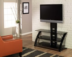 TV Stand - Vitoria Flat Panel TV Stand with Integrated Mount - Z-Line Designs - ZL564-44MU