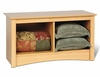 Twin Cubbie Bench in Maple - Sonoma Collection - Prepac Furniture - MSC-3620