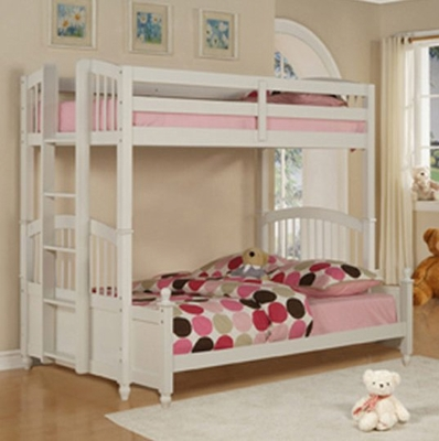 Twin/Full Size Bunk Bed - May - Powell Furniture - 270-037-BBED-3