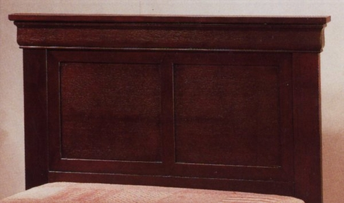 Twin Headboard in Warm Martini Cherry Finish on Cherry Veneers and Selected Hardwoods