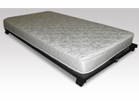 "Twin Size 5"" High Density Foam Rolled Mattress in White - Hillsdale Furniture - 91033"