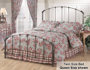 Twin Size Bed - Bonita Twin Size Metal Bed