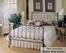Twin Size Bed - Camelot Twin Size Metal Sleigh Bed