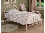 Twin Size Bed in Pink - Coaster - 2389P