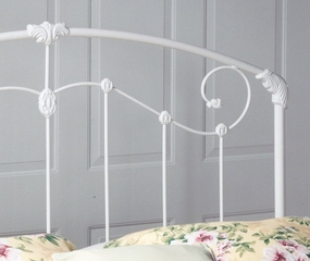 King Size Bed - Maddie Eastern King Size Metal Bed