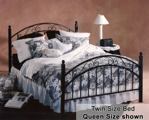 Twin Size Bed - Willow Twin Size Metal Bed