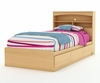 Twin Size Bed with Headboard in Natural Maple - South Shore Furniture - 3113-TBED-141