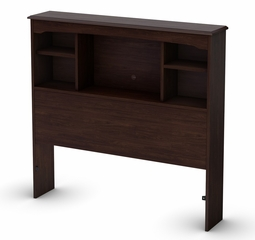 "Twin Size Bookcase Headboard (39"") in Havana - Willow - South Shore Furniture - 3339098"
