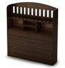 "Twin Size Bookcase Headboard (39"") in Moka - Popular - South Shore Furniture - 2779098"