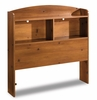 Twin Size Bookcase Headboard in Sunny Pine - South Shore Furniture - 3342098