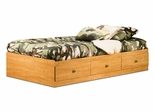 Twin Size Mates Bed in Florence Maple - South Shore Furniture - 3575080