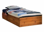 Twin Size Mates Bed in Sunny Pine - South Shore Furniture - 3342213