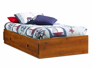 Twin Size Mates Bed in Sunny Pine - South Shore Furniture - 3642213
