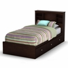 Twin Size Mates Bed with Headboard in Havana - Willow - South Shore Furniture - 3339212-098