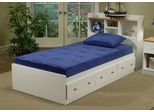 "Twin Size Mattress - 7"" Sleep Science ViscoKidz Blue Memory Foam Mattress - South Bay International - VK-TMB"