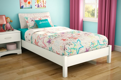 Twin Size Platform Bed - Step One - South Shore Furniture - 3050205