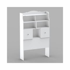 Twin Size Tall Bookcase Headboard with Extensive storage - Nexera Furniture