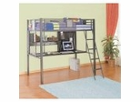 Twin Study Loft Bunk Bed - Monster Bedroom - Powell Furniture - 500-119
