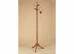 "Twist Coat Rack - ""Nostalgic Oak"" - Powell Furniture - 451Z"