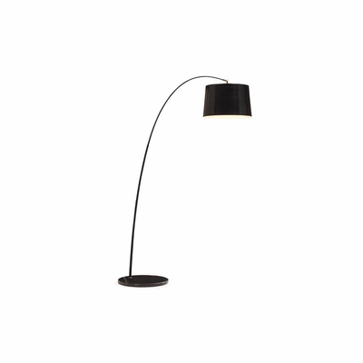 Twisty Black Floor Lamp - Zuo
