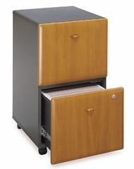 Two-Drawer File (Assembled) - Series A Natural Cherry Collection - Bush Office Furniture - WC57452SU