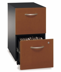 Two-Drawer File (Assembled) - Series C Auburn Maple Collection - Bush Office Furniture - WC48552SU