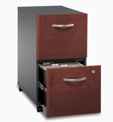 Two-Drawer File (Assembled) - Series C Hansen Cherry Collection - Bush Office Furniture - WC24452SU
