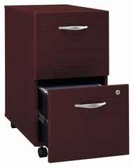 Two-Drawer File (Assembled) - Series C Mahogany Collection - Bush Office Furniture - WC36752SU