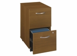 Two-Drawer File (Assembled) - Series C Warm Oak Collection - Bush Office Furniture - WC67552SU