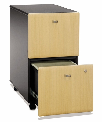 Two-Drawer File - Series A Beech Collection - Bush Office Furniture - WC14352