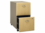 Two-Drawer File - Series A Light Oak Collection - Bush Office Furniture - WC64352