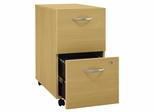 Two-Drawer File - Series C Light Oak Collection - Bush Office Furniture - WC60352
