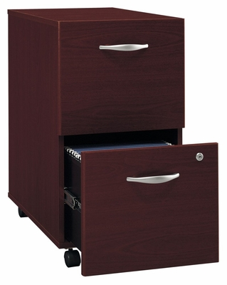 Two-Drawer File - Series C Mahogany Collection - Bush Office Furniture - WC36752