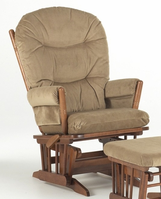 Two Post Multiposition and Recliner Glider - Dutailier - D20-82A