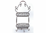 Two-Tiered Oval Baskets - IMAX - 9745