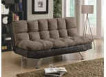 Two Tone Microfiber Sofa Bed - 300306