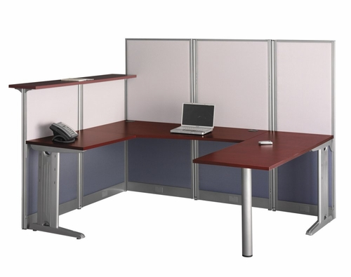 U-Workstation Set 1 - Office-in-an-Hour Collection - Bush Office Furniture - OIAH-SET-3