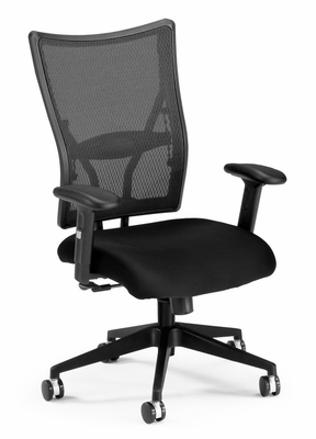 Ultimate Executive Mesh Ventilated Chair (Mid back) - OFM - 591-F
