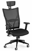 Ultimate Leather Executive Mesh Chair (Hi back) - OFM - 590-L