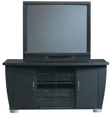 Universal TV Stand Soft Black - Sauder Furniture - 161152