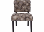 Upholstered Blast Bella Accent Chair - BELLA-CH-BLAST