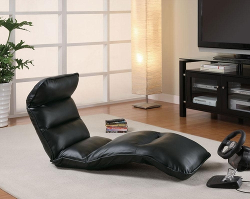 Upholstered Convertible Gaming Lounge Chair - 301001