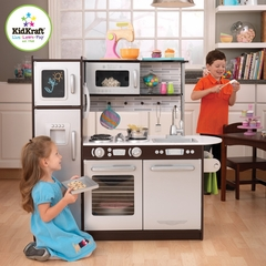 Uptown Espresso Kitchen - KidKraft Furniture - 53260