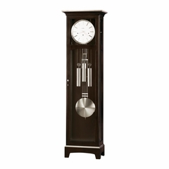 Urban II Grandfather Clock in Espresso - Howard Miller