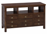 "Urban Lodge Brown 50"" Media Unit with Storage - 087-50"