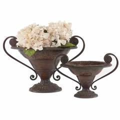 Urns (Set of 2) - IMAX - 4509-2
