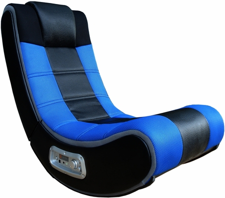 V-Rocker Se / Wireless / Grey Mesh Sides / Blue Mesh Racing Strip/ Black Vinyl Center