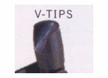 V-Tip Caps (Pack of 100) - National Public Seating - VT