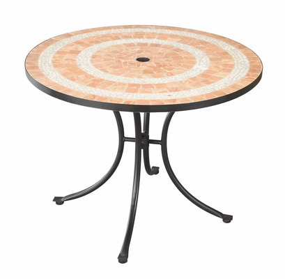 Valencia Outdoor Dining Table in Terra Cotta - Home Styles - 5603-30